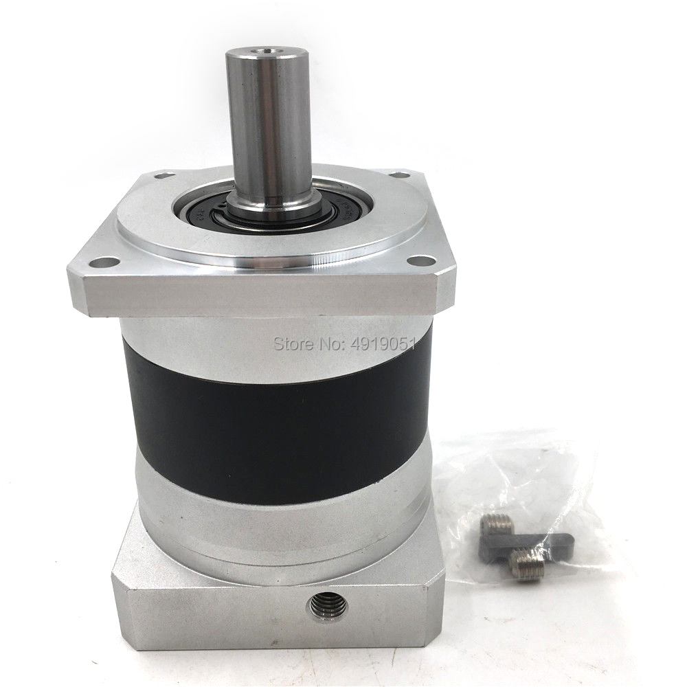 Low Noise Servo Planetary Gearbox 35:1 20mm Shaft 6000rpm Max Input Speed 10ARCMIN 210Nm for Flange 80mm Nema32 Servo MotorLow Noise Servo Planetary Gearbox 35:1 20mm Shaft 6000rpm Max Input Speed 10ARCMIN 210Nm for Flange 80mm Nema32 Servo Motor