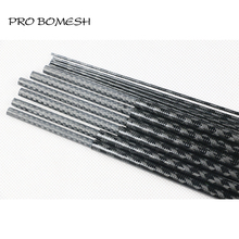 Pro Bomesh 2 Blanks 1.98M L ML 2 Section 30T Carbon Fiber Xrays Wrapping 3K Carbon Spigot Bass Rod Blank DIY Rod Building