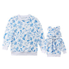 Matching Mother and Infant Baby Girl Casual Sweatshirt