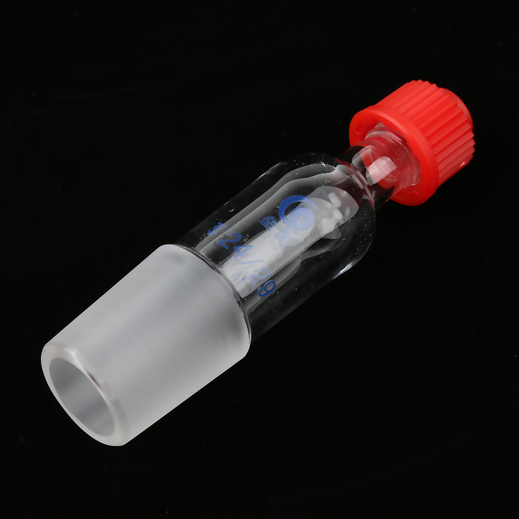 24/29 Thermometer Adapter Inlet Adapter With Cap For Distillation Apparatus