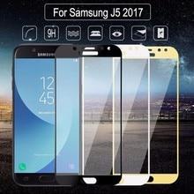 """9H для samsung Galaxy J5 Pro j530 SM-J530FM/DS J530DS j530F 5,"""" Полное покрытие, закаленное стекло, защита экрана, защитный чехол HD"""