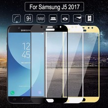 9H For Samsung Galaxy J5 Pro 2017 j530 SM-J530FM / DS J530DS j530F 5.2 Full Cover Tempered Glass Screen Protector Guard Case HD