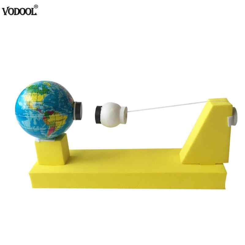 DIY Earth Moon Gravity Geography Model Kids Scientific Experiment Teaching Toys Kits Children School Educational Stationery Toy