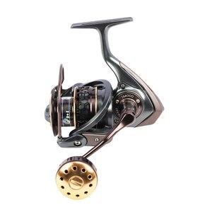 Image 4 - TSURINOYA Fishing Reel Jaguar 4000 5000 Double Spool Carp Reel 9+1BB 5.2:1 Fishing Lure Spinning Reel Saltwater Feeder Reel