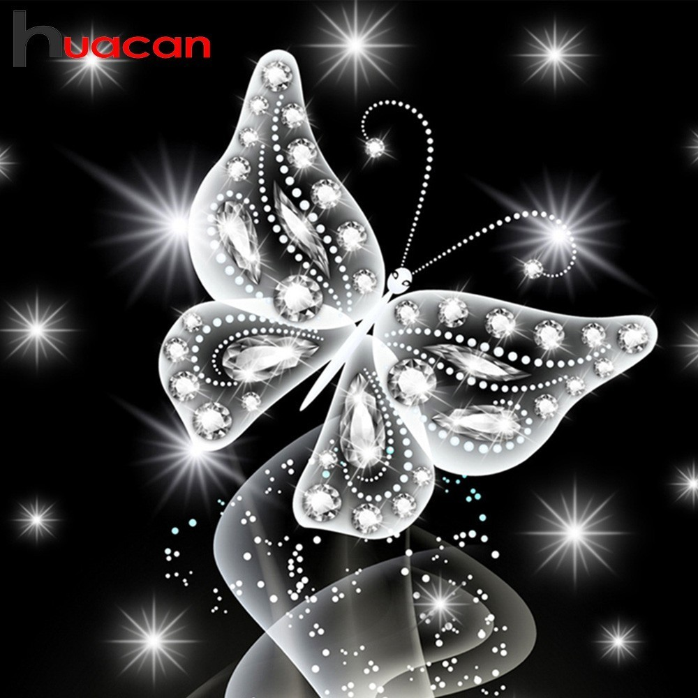 Huacan 5D Diamond Painting Full Square Butterfly Rhinestones Pictures Diamond Mosaic Full Display Diamond Embroidery Sale AnimalHuacan 5D Diamond Painting Full Square Butterfly Rhinestones Pictures Diamond Mosaic Full Display Diamond Embroidery Sale Animal