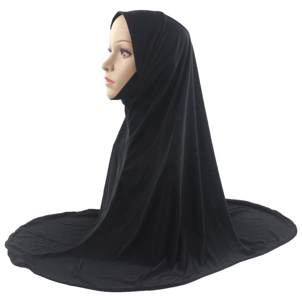 One Piece Amira Hijab with round wrap Kuwait Mona Hijab one piece
