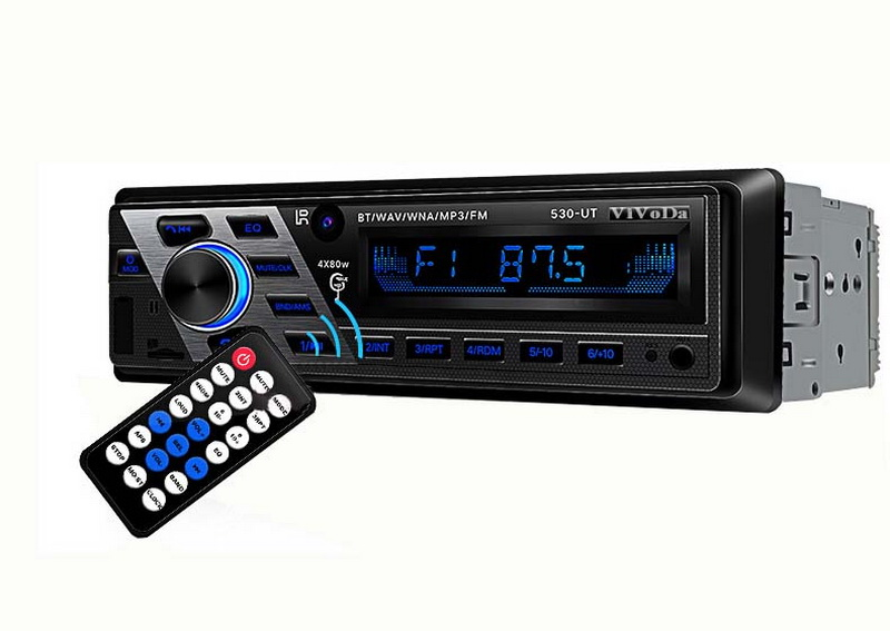 1 Din 12 V Bluetooth Aux-in Fm Hallo-fi Auto Radio Auto Radio Audio Steoro Fernbedienung Auto Stereo Auto Mp3 Player