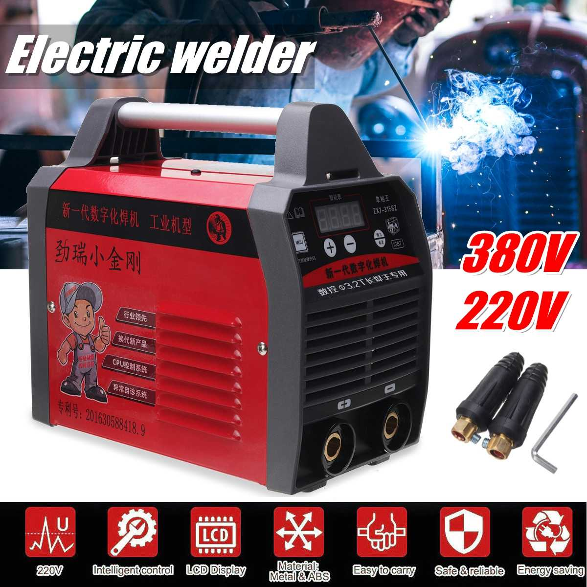 ZX7-315 IGBT Inverter Arc Electric Welding Machine 220V/380V MMA Welders for Welding Working and Electric WorkingZX7-315 IGBT Inverter Arc Electric Welding Machine 220V/380V MMA Welders for Welding Working and Electric Working