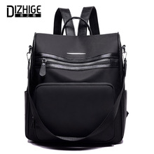 цены DIZHIGE Brand Fashion Oxford Women Backpack High Quality School Bag For Teenage Girls Casual Backpacks Black Female Travel Bags