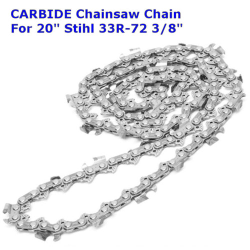 1pc New Carbide Chainsaw Saw Chain Silver 20 3/8 33R-72.063 Saws Chain Accessory Tool Suitable For Stihl MS290 MS291 Husqvarna1pc New Carbide Chainsaw Saw Chain Silver 20 3/8 33R-72.063 Saws Chain Accessory Tool Suitable For Stihl MS290 MS291 Husqvarna