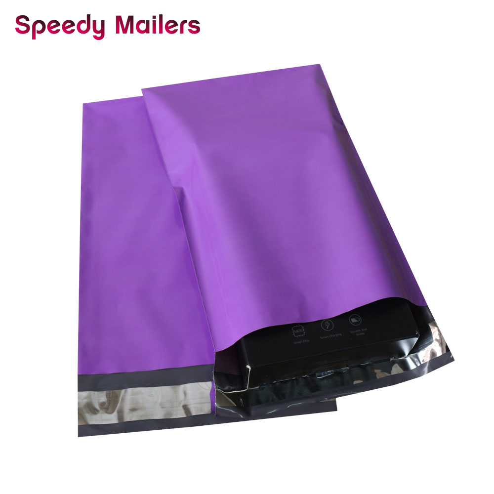 Image 4 - Speedy Mailers 100PCS 6x9inch 150*230mm Colorful Poly Mailer Purple Poly Mailer Self Seal Plastic Shipping Envelope BagsPaper Envelopes   -