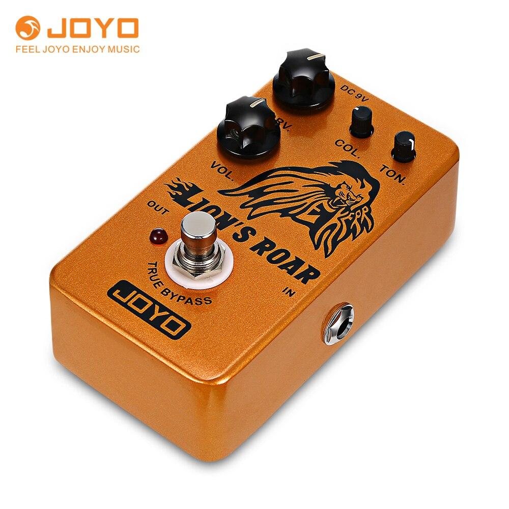 JOYO JF-MK pédale d'effets rugissement de lion accessoire de guitare pédale d'effet en alliage d'aluminium véritable contournement pédale d'effet guitare de haute qualité
