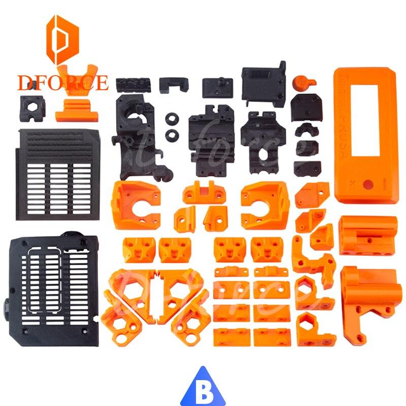 D-FORCE petg material completo impresso peças para diy prusa i3 mk3 urso atualização impressora 3d não material pla