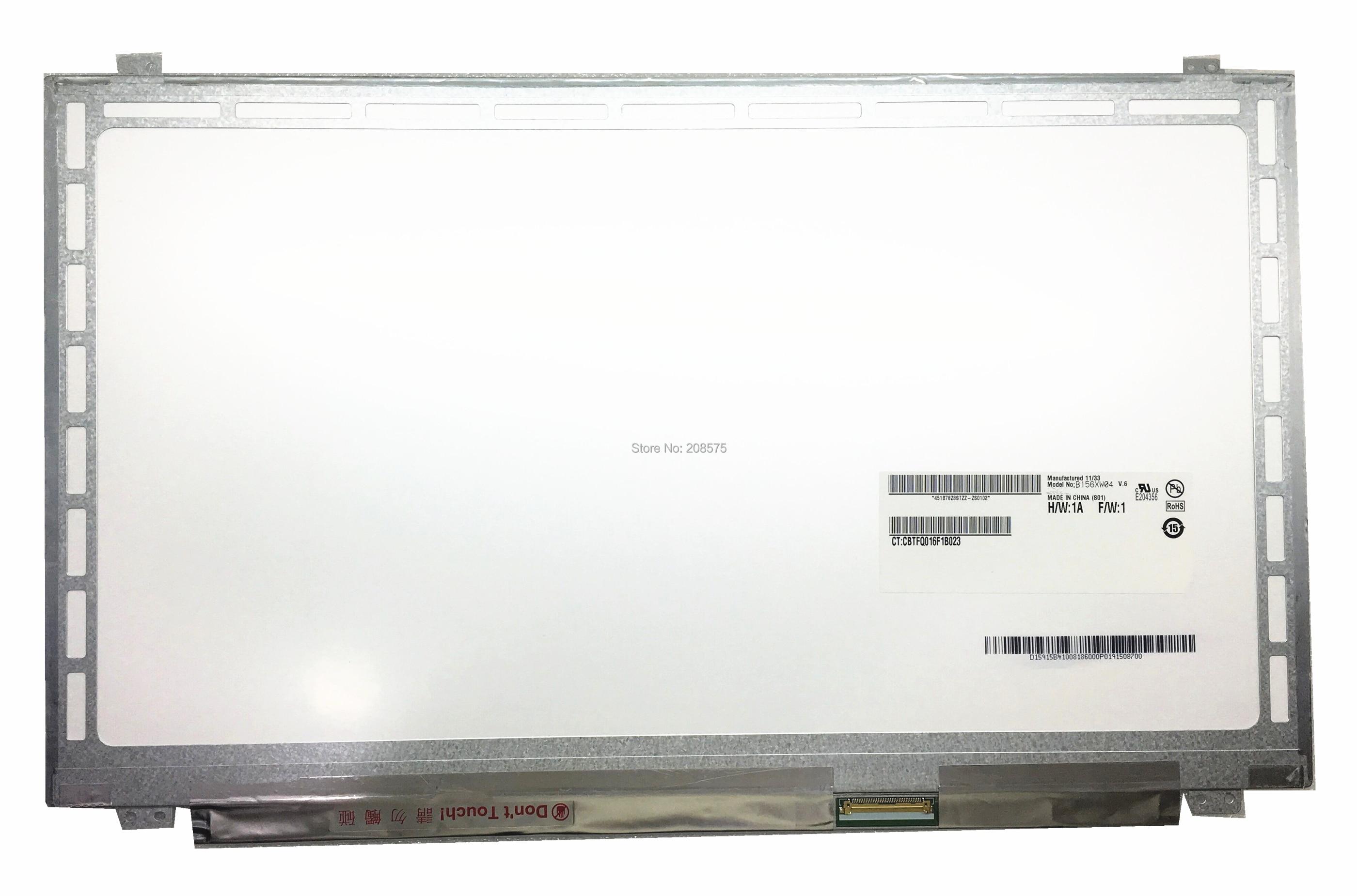 Бесплатная доставка B156XW04 V.6 V.5 LP156WHB TLA1 LP156WH3 TLS1 N156BGE-L31 N156BGE-L41 LTN156AT20 LTN156AT30 40 контакты
