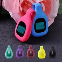 Colorful Replacement Silicon Rubber Clip Case Cover Holder Pouch For Fitbit Zip Activity Tracker Smart Accessories