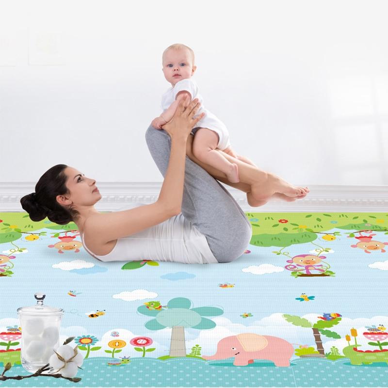 Bébé tapis de jeu 2x1.8 m jouets pour enfants tapis Puzzle enfants développement tapis Tapete Infantil maternelle bébé ramper tapis