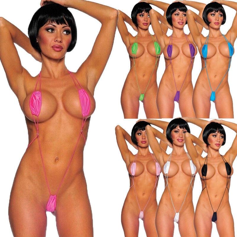 Meihuida Swimsuit Bikini 2019 Sexy Women Swimming Suit  Micro Swimwear Bikini Bra V-string ThongMonokini Beach Clothings Women