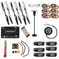 F05423 I JMT ARF Electronic:GPS APM2.8 Flight Control 350KV Brushless Motor FMT40A ESC RC HexaCopter Aircraft