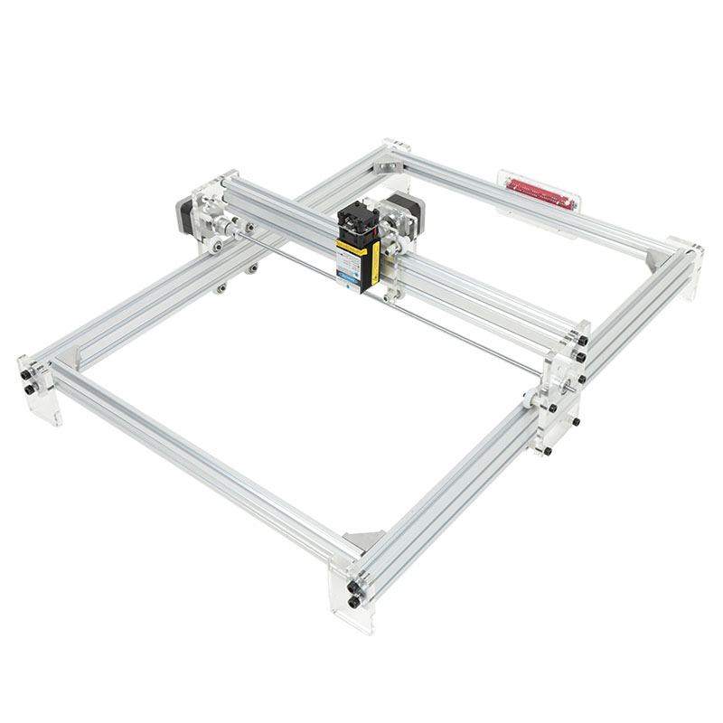 Scimelo 40X50 cm 2500 MW bricolage bureau Mini Machine de gravure Laser kit de bricolage CNC panneau de commande à deux axes profil en aluminium de haute qualité