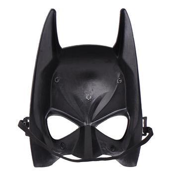 Halloween Face Masks Helmet Batman Cartoon Show Black Mask Masquerade Party Masks Batman Face Cosplay Masks face mask