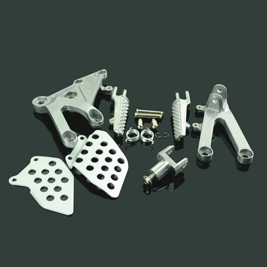 Front Passenger Foot Pegs Footrest Bracket For Honda CBR600RR F5 CBR 600 RR 2003 2004 2005