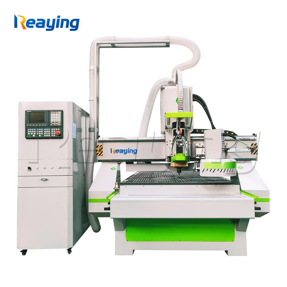 ATC woodworking cnc router machine cnc processing center with 12 router bits for panel furniture manufacture