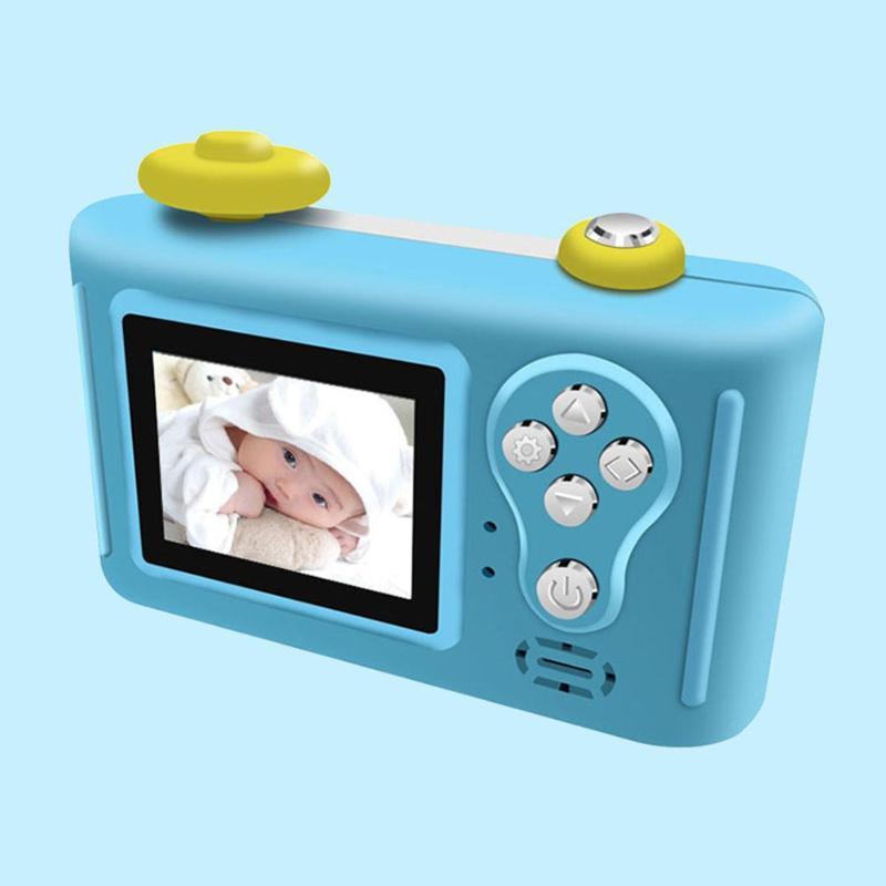 REMAX dessin animé mignon 1.5 pouces 2MP 1080 P enfants bébé Mini reflex numérique caméra photographie caméscope enregistreur vidéo livraison directe - 5