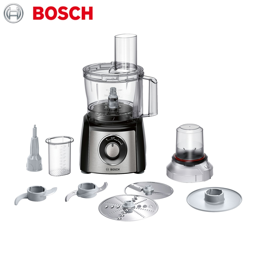Фото - Food Processors Bosch MCM3401M home kitchen appliances machine tools automatic cooking assistant stainless steel spiral coil reverse screw knife pendulum kitchen cooking tools