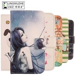 Чехол для Orbic Wonder, кожаный флип-кошелек 5,5 дюйма с рисунком из мультфильма, чехол для Orbic Wonder Coque