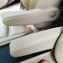 Microfiber Leather Interior Seat Armrest Handle Cover Decor Trim For Honda Odyssey 2004 2005 2006 2007 2008 2009 2010 2011 2012