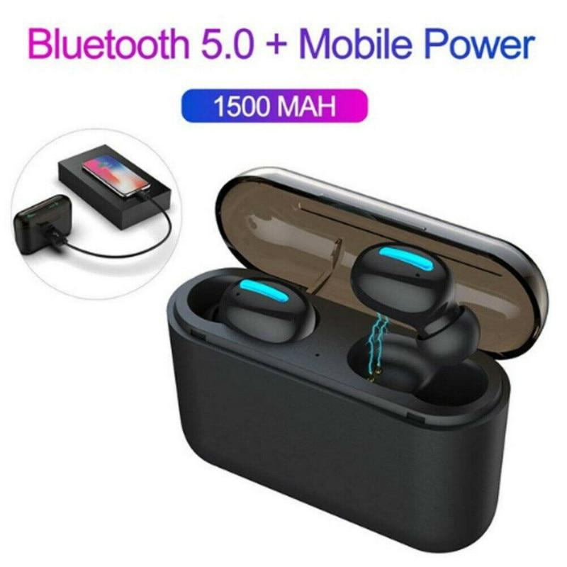 New Bluetooth 5.0 Earphones TWS Wireless Headphones Blutooth Earphone Handsfree In-Ear Headset