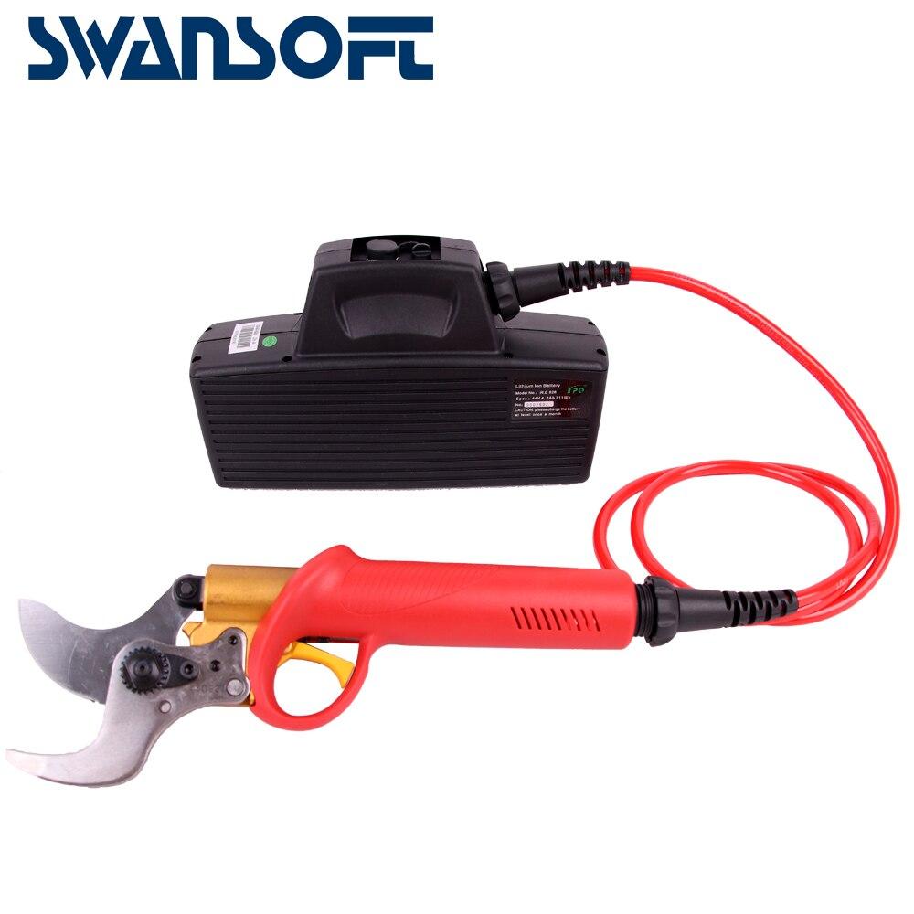 Tesouras de poda de jardim pruners elétrica serra de poda tesouras de podar podador portátil profissional para a vinha e pomares CE frete grátis