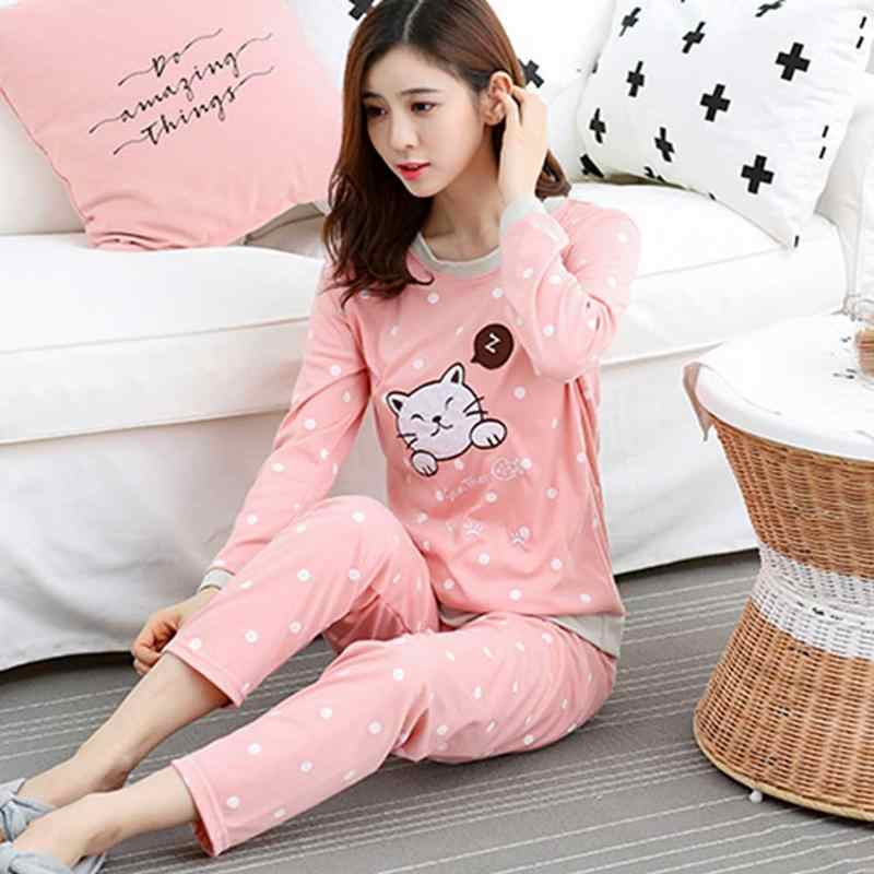 ed7598249 ... Home Winter And Autumn Comfortable Cotton Fabric Cartoon Cute Animal  Long-Sleeved Pajamas Set Practical. RELATED PRODUCTS. Sweet Comfortable  Milk Silk ...