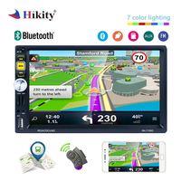 Hikity Car Radio 2 din 7 autoradio gps navigation Bluetooth AUX FM 2din auto Stereo with remote control Multimedia Video Player