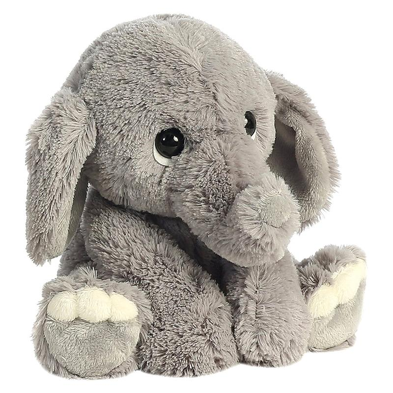 Baby Elephant Pillow Plush Toy Baby Child Comfort Doll ...