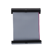 2-inch 44-pin female 2.5-inch IDE Hard Drive  CableFemale F/F Extension Data Ribbon Cable Line Dual Device 5 pcs 20cm idc 6 pin hard drive extension wire flat ribbon cable for motherboard