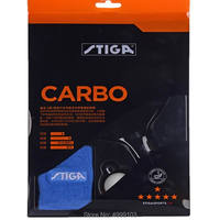 Original stiga 6 stars Carbo finished table tennis racket fast attack with loop for higher level player speed is good