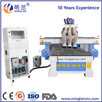 3 axis cnc router 1325 1224 1290 mini cnc router 4 axis 1300mm*2500mm 3 spindle