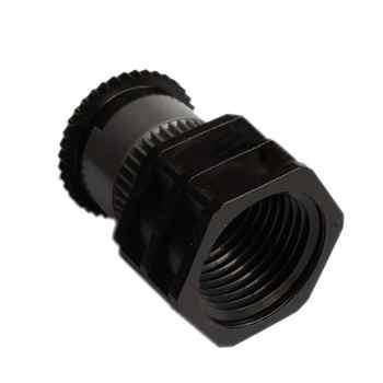 1 個スプレー方向調整可能な遠心ノズル 1/2 \'\'マイクロ霧化散乱スプリンクラー庭の芝生霧状ツール