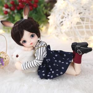 Image 4 - Gina BJD SD Puppe 1/6 Körper Modell Baby Mädchen Jungen Hohe Qualität Spielzeug Shop Harz FiguHuman Version und Fantasie Version