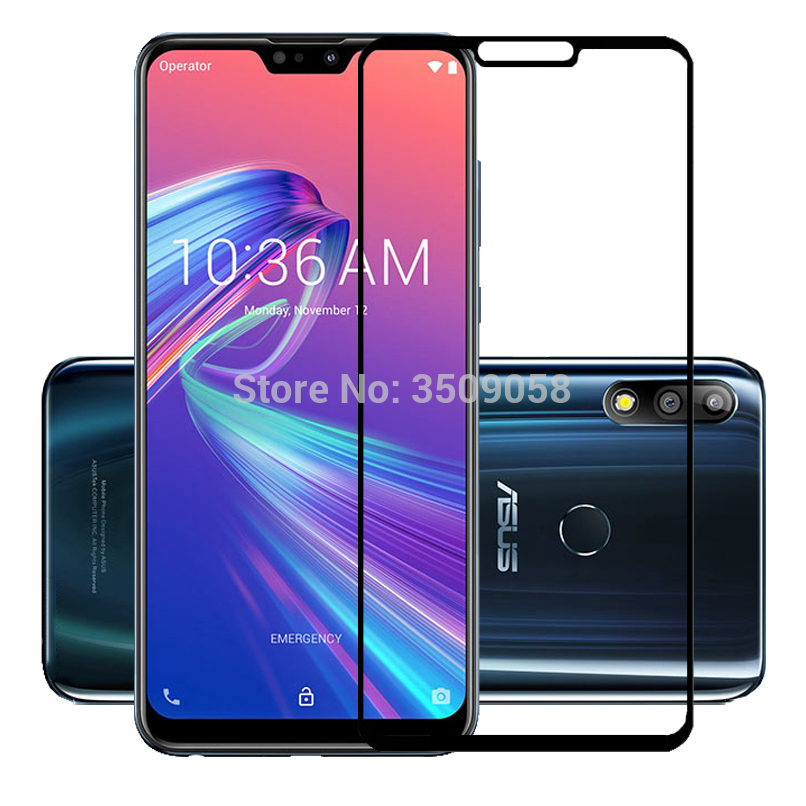 Image 5 - tempered glass For Asus Zenfone Max Pro M2 ZB631KL ZB633KL Cover Protective glass for zenfone Max pro m2 zb631kl Safety film-in Phone Screen Protectors from Cellphones & Telecommunications
