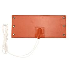 Около 10x23,5 см 12 В 100 Вт Нагреватель Коврик универсальный силиконовый нагревательный коврик гибкий Быстрый теплообмен солидно Встроенный Электрический коврик