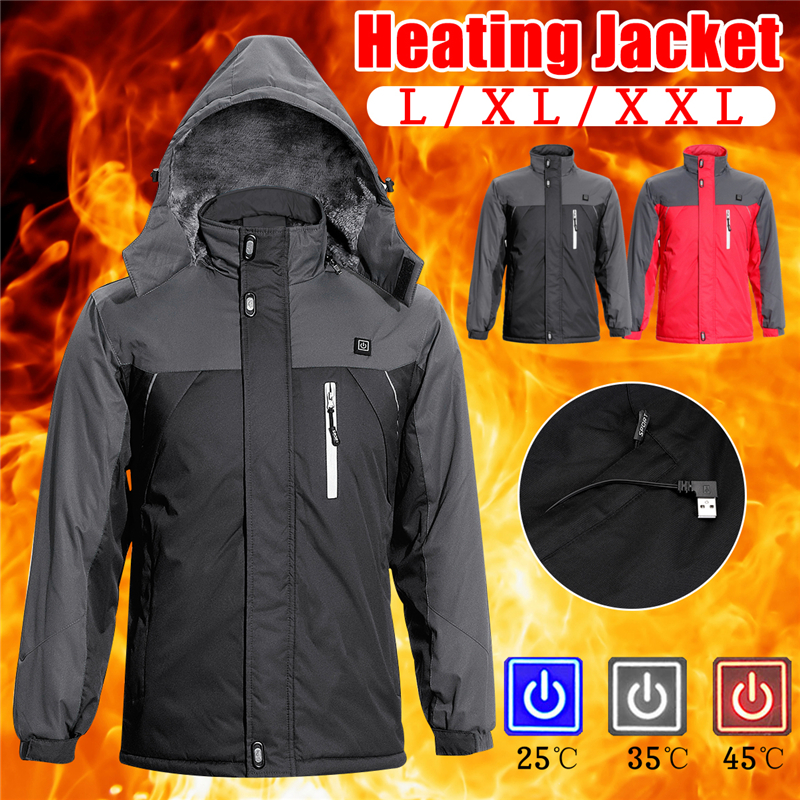 Winter Jacket Men Women Heated Outerwear Coats Electric Heated Vest Heating Waistcoat Thermal Warm Clothing Feather Hot Sale usb ultra thin winter electric heated sleevless hiking vest jacket winter warm down infrared heated outerwear coats slim fit
