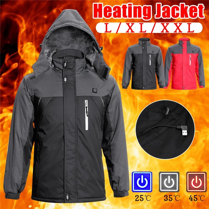 Winter Jacket Men Women Heated Outerwear Coats Electric Heated Vest Heating Waistcoat Thermal Warm Clothing Feather Hot Sale xtx men s slim fit casual dress vest suit waistcoat jacket coats