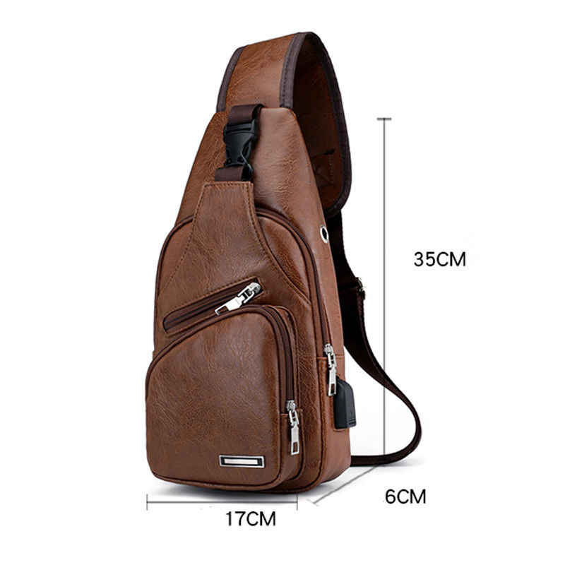 Hot Men Handbags Casual PU Leather Bag Vertical Briefcase Shoulder Messenger Bags