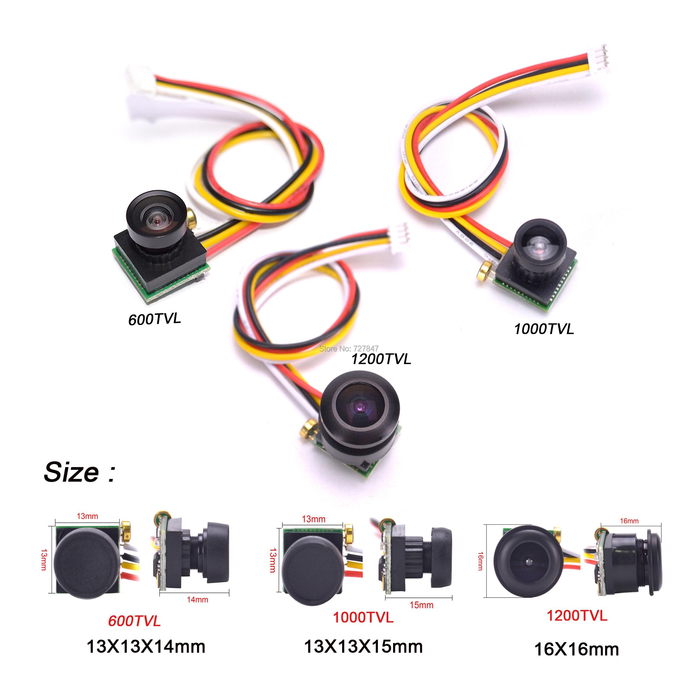 600TVL/1000TVL 170 grad/1200TVL 150 Grad super kleine farbe video mini FPV kamera mit audio für Mini 200 250 Quadcopter