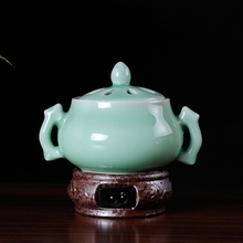 Interaural celadon electric burner sachemic essence electronic incense set Clean the air aromatherapy free shipping