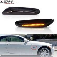 IJDM Автомобильная Поворотная сигнальная лампа Янтарная для BMW E81/E82/E87/E88 E90/E91/E92/E93/E46 M3 E60/E61 1 3 5 X серия передних боковых габаритных ламп