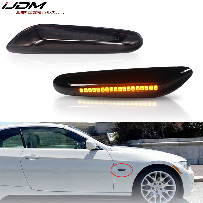iJDM Car Turn Signal Bulb Amber For <font><b>BMW</b></font> E81/E82/E87/E88 E90/E91/E92/E93/E46 M3 <font><b>E60</b></font>/E61 1 3 <font><b>5</b></font> X <font><b>Series</b></font> Front Side Marker Lamps image