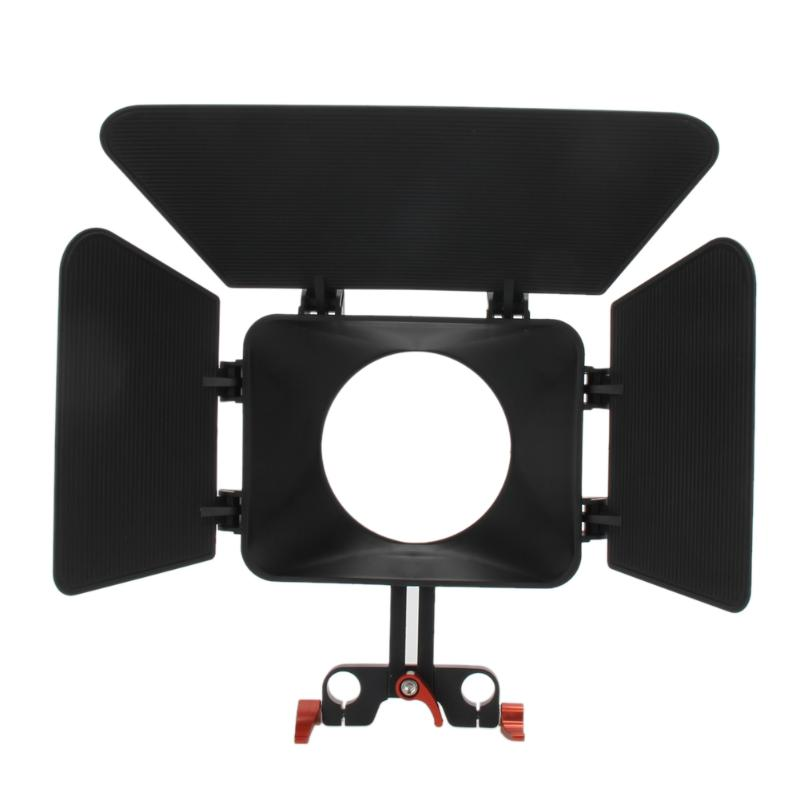 CS-M1 ILDC Camera Matte Box for 15mm Rail Rod Support Rig Follow Focus for Sony Panasonic A7 A7II Mirrolrless CamerasCS-M1 ILDC Camera Matte Box for 15mm Rail Rod Support Rig Follow Focus for Sony Panasonic A7 A7II Mirrolrless Cameras